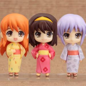 Good Smile Company's Nendoroid Puchi Haruhi Summer Festival Set