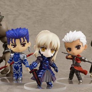 Good Smile Company's Nendoroid Puchi Fate/stay night Extension Set