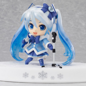 Good Smile Company's Nendoroid Snow Miku Fluffy Coat Version