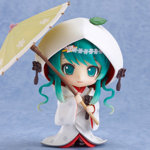Good Smile Company's Nendoroid Snow Miku: Strawberry White Kimono Ver.