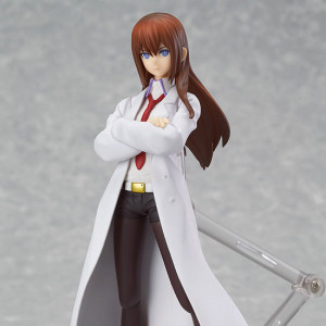Max Factory's figma Makise Kurisu: White Coat ver.