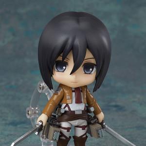Good Smile Company's Nendoroid Mikasa Ackerman