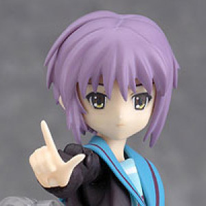 Max Factory's figma Nagato Yuki School Uniform Version