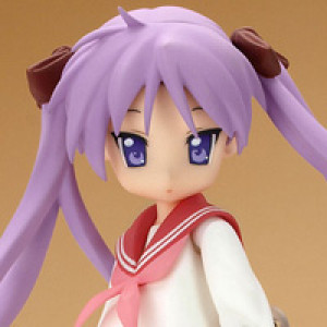 Max Factory's figma Hiiragi Kagami Winter School Uniform Version
