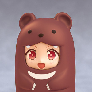 Nendoroid More: Face Parts Case (Brown Bear)