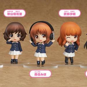 Nendoroid Petite: Girls und Panzer Ankou Team Ver. (Set of 5)