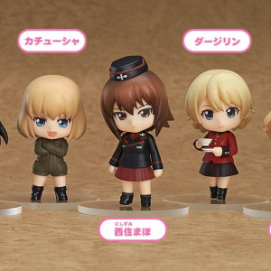 Nendoroid Petite: Girls und Panzer Other High Schools Ver. (Set of 6)