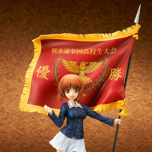 Nishizumi Miho National Highschool Senshado Tournament Championship Flag Ver.