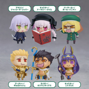 Learning with Manga! Fate/Grand Order Collectible Figures Episode 3 (Set of 6)