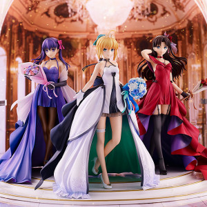 Saber & Tohsaka Rin & Matou Sakura -15th Celebration Dress Ver.- Premium Box
