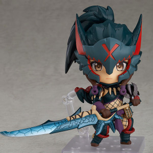 Nendoroid Hunter Female Nargacuga Alpha Ver.