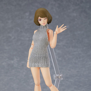 figma Female Body (Chiaki) with Backless Sweater Outfit