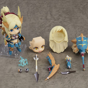 Nendoroid Hunter Female Zinogre Alpha Armor Ver. DX