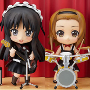 Good Smile Company's Nendoroid K-ON! Mio & Ritsu Live Stage Set