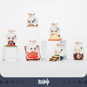Pimon is NOT EMERGENCY FOOD! Pimon Mascot Figure Collection
