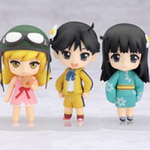 Good Smile Company's Nendoroid Puchi Bakemonogatari Set #3