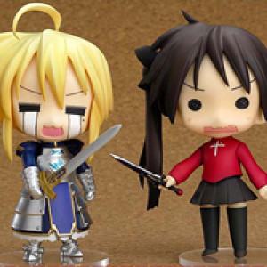 Good Smile Company's Nendoroid Lucky Star Fate Cosplay Set