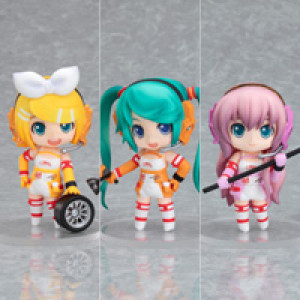 Good Smile Company's Nendoroid Puchi Racing Miku