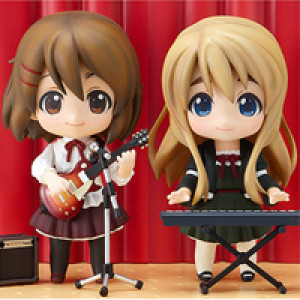 Good Smile Company's Nendoroid K-ON! Yui & Mugi Live Stage Set