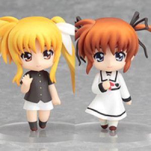 Good Smile Company's Nendoroid Puchi Nanoha & Fate Final Scene Version